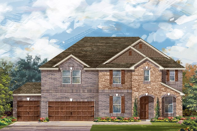 New Homes in Round Rock, TX - Plan 3410 C