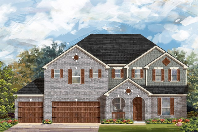 New Homes in Round Rock, TX - Plan 3604 A