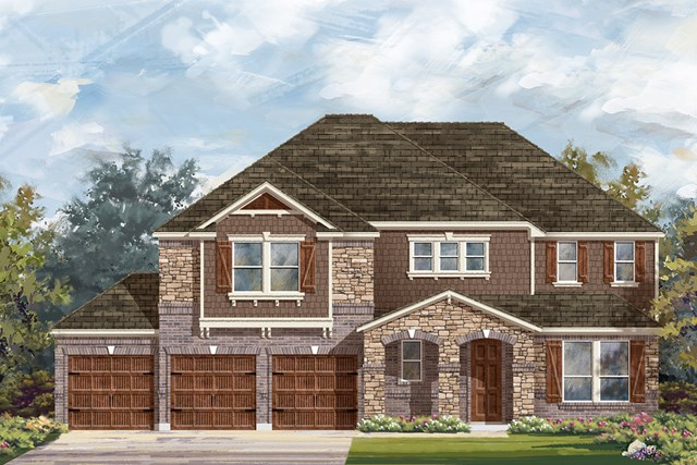 New Homes in Round Rock, TX - Plan 3604 C