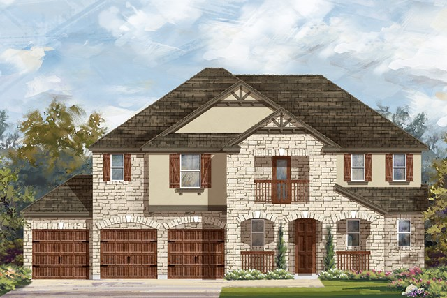 New Homes in Round Rock, TX - Plan 3604 D