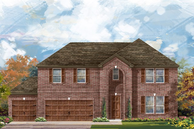 New Homes in Round Rock, TX - Plan L-3959 A