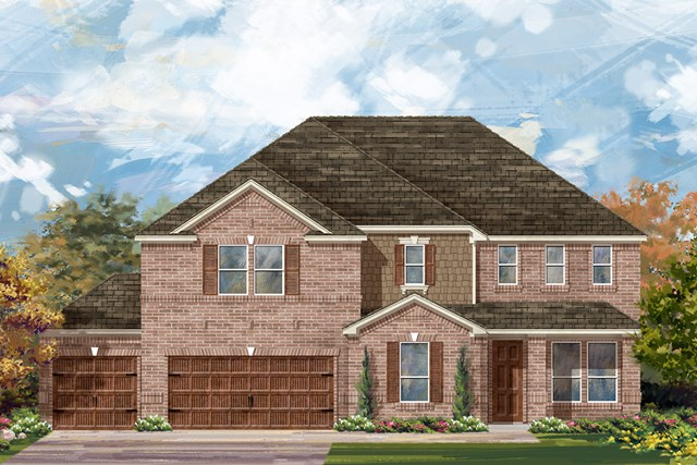 New Homes in Round Rock, TX - Plan L-4036 A