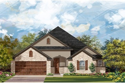 New Homes in Round Rock, TX - Plan L-2325 D
