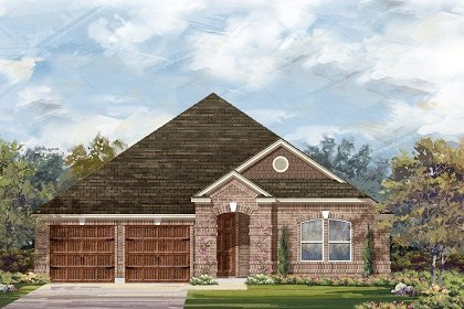 New Homes in Round Rock, TX - Plan L-2334 B