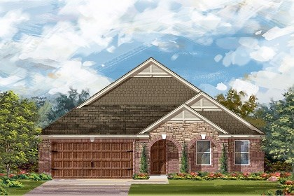 New Homes in Round Rock, TX - Plan L-2334 C