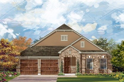 New Homes in Round Rock, TX - Plan L-2334 D