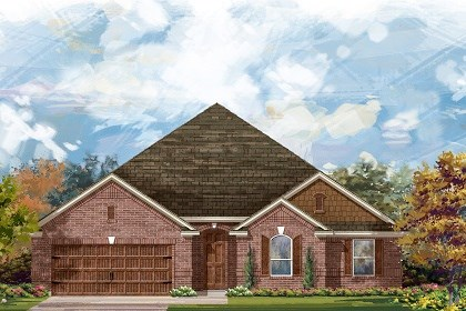 New Homes in Round Rock, TX - Plan L-2598 A