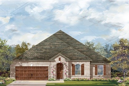 New Homes in Round Rock, TX - Plan L-2598 B