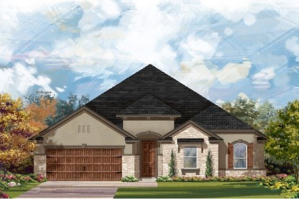 New Homes in Round Rock, TX - Plan L-2598 D