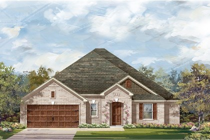 New Homes in Round Rock, TX - Plan L-2663 A