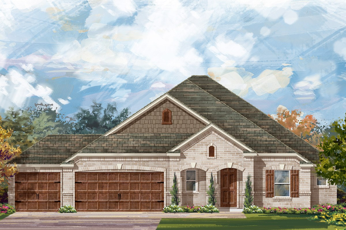 New Homes in Round Rock, TX - Forest Grove - Legend Estates Collection Plan L-2663