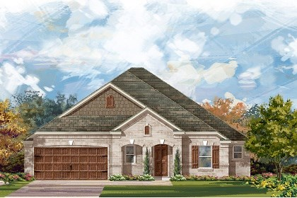New Homes in Round Rock, TX - Plan L-2663 B