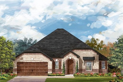 New Homes in Round Rock, TX - Plan L-2663 C
