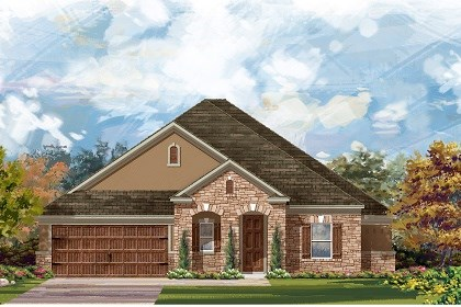 New Homes in Round Rock, TX - Plan L-2663 D