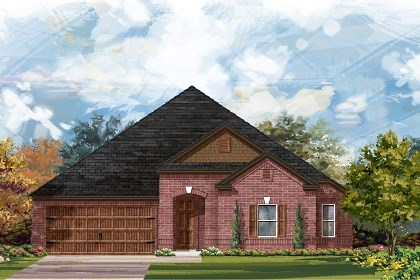 New Homes in Round Rock, TX - Plan L-2858 A