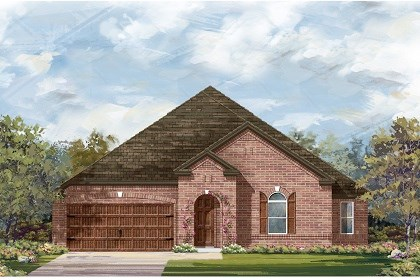 New Homes in Round Rock, TX - Plan L-2858 B