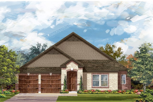 New Homes in Round Rock, TX - Plan L-2858 3
