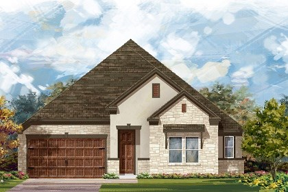 New Homes in Round Rock, TX - Plan L-2858 D