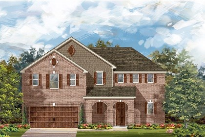 New Homes in Round Rock, TX - Plan L-2888 A