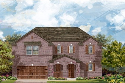 New Homes in Round Rock, TX - Plan L-2888 B