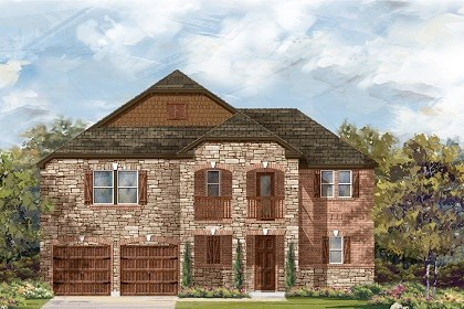 New Homes in Round Rock, TX - Plan L-2888 C