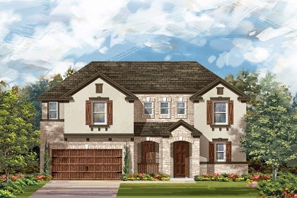 New Homes in Round Rock, TX - Plan L-2888 D