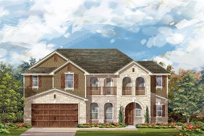 New Homes in Round Rock, TX - Plan L-2915 C