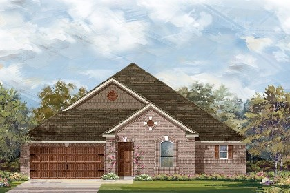 New Homes in Round Rock, TX - Plan L-3005 A