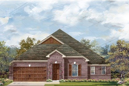 New Homes in Round Rock, TX - Plan L-3005 B