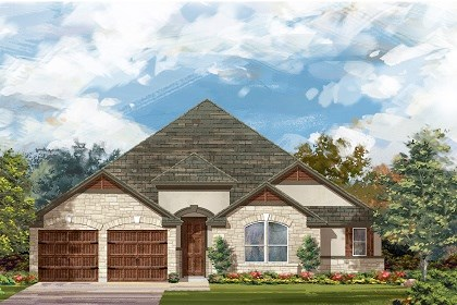 New Homes in Round Rock, TX - Plan L-3005 D