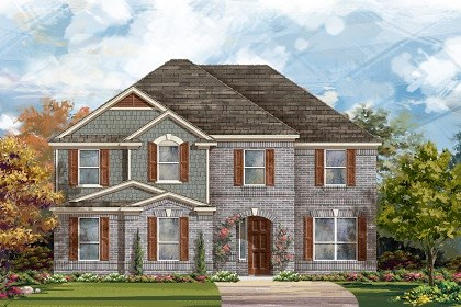 New Homes in Round Rock, TX - Plan L-3221 A