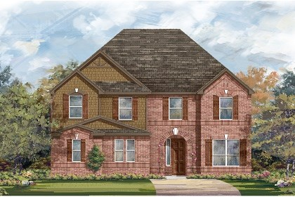 New Homes in Round Rock, TX - Plan L-3221 B