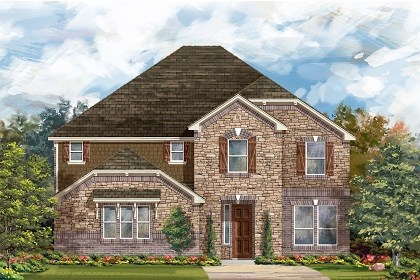 New Homes in Round Rock, TX - Plan L-3221 C