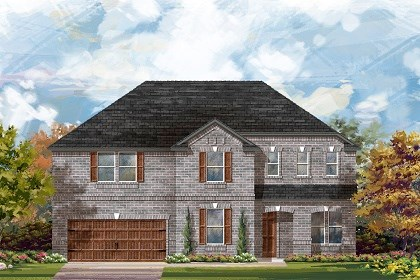 New Homes in Round Rock, TX - Plan L-3410 A