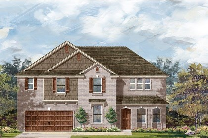 New Homes in Round Rock, TX - Plan L-3410 B