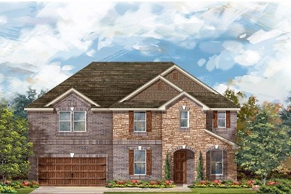 New Homes in Round Rock, TX - Plan L-3410 C