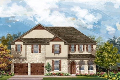 New Homes in Round Rock, TX - Plan L-3410 D