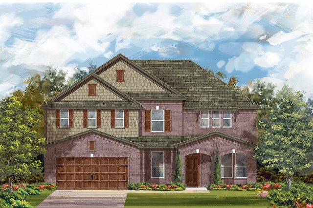 New Homes in Round Rock, TX - Plan L-3471 2