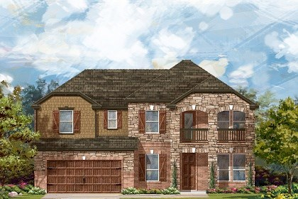 New Homes in Round Rock, TX - Plan L-3471 C
