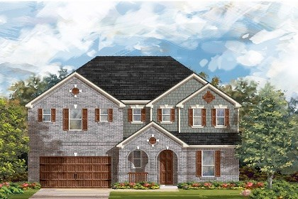 New Homes in Round Rock, TX - Plan L-3604 A
