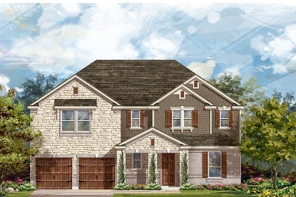 New Homes in Round Rock, TX - Plan L-3604 B