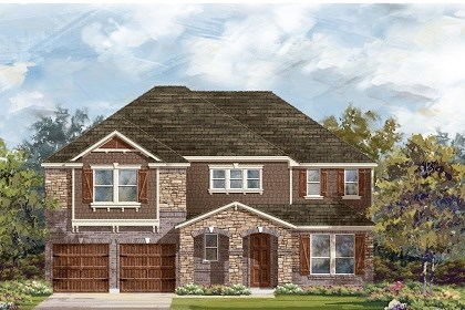 New Homes in Round Rock, TX - Plan L-3604 C