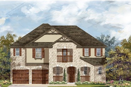 New Homes in Round Rock, TX - Plan L-3604 D