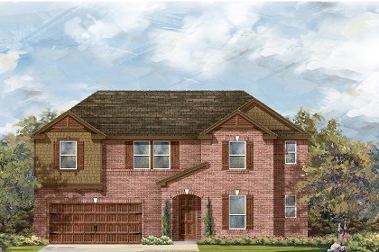 New Homes in Round Rock, TX - Plan L-3959 B
