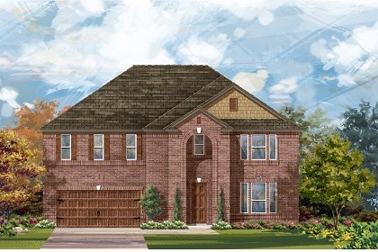 New Homes in Round Rock, TX - Plan L-3974 A