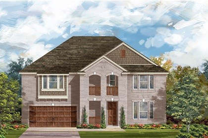 New Homes in Round Rock, TX - Plan L-3974 B