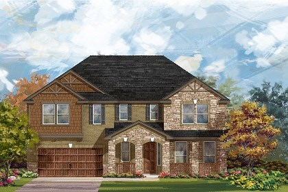 New Homes in Round Rock, TX - Plan L-3974 C
