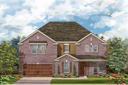 New Homes in Round Rock, TX - Plan L-4036 B