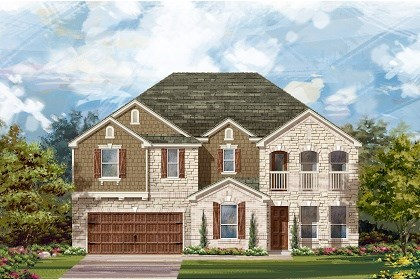 New Homes in Round Rock, TX - Plan L-4036 C