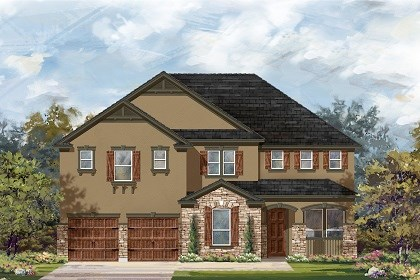 New Homes in Round Rock, TX - Plan L-4036 D